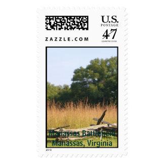 Campo de batalla de Manassas, Manassas, Virginia Timbre Postal