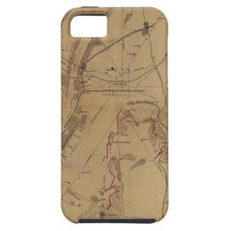 Campo de batalla Gettysburg del 1 de julio 2do 3ro iPhone 5 Case-Mate Carcasa