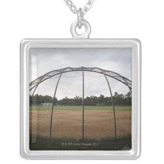 Campo de béisbol 2 grimpolas personalizadas