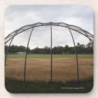 Campo de béisbol 2 posavasos