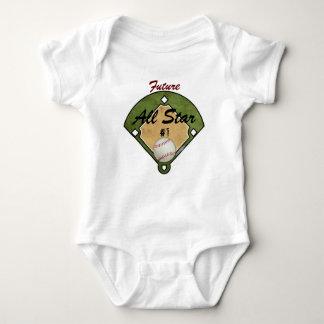 Campo de béisbol body para bebé
