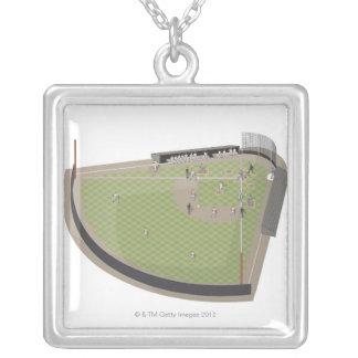 Campo de béisbol colgante personalizado