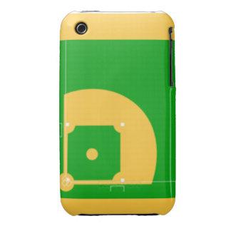 Campo de béisbol iPhone 3 Case-Mate cárcasa