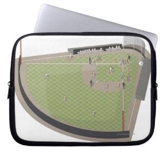 Campo de béisbol manga portátil