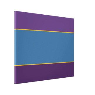 Campo de color de Esmeralda Impresión En Lienzo Estirada