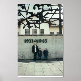 Campo de concentración en Dachau Posters