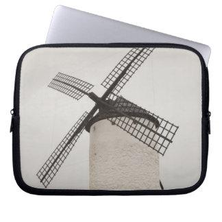 Campo de Criptana, antique La Mancha windmills 3 Laptop Computer Sleeves