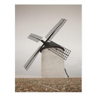 Campo de Criptana, antique La Mancha windmills 3 Postcard