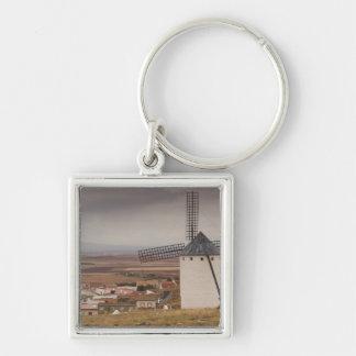 Campo de Criptana, antique La Mancha windmills 4 Key Chains