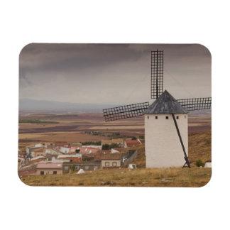 Campo de Criptana, antique La Mancha windmills 4 Magnet