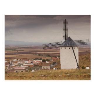 Campo de Criptana, antique La Mancha windmills 4 Postcard