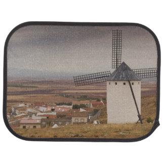 Campo de Criptana, antique La Mancha windmills 4 Floor Mat