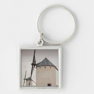 Campo de Criptana, antique La Mancha windmills 5 Keychain