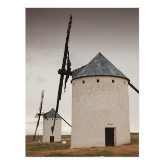 Campo de Criptana, antique La Mancha windmills 5 Postcard
