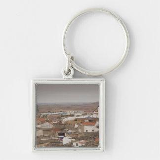 Campo de Criptana, antique La Mancha windmills 6 Keychains