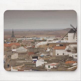 Campo de Criptana, antique La Mancha windmills 6 Mouse Pad
