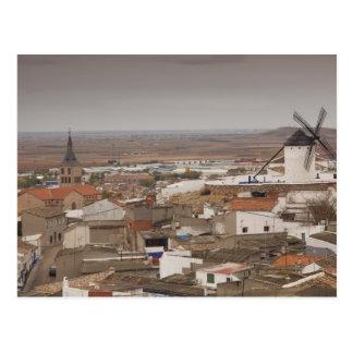 Campo de Criptana, antique La Mancha windmills 6 Postcard