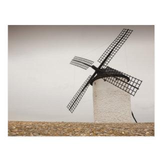 Campo de Criptana, antique La Mancha windmills Postcard
