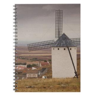 Campo de Criptana, molinoes de viento antiguos 4 d Notebook