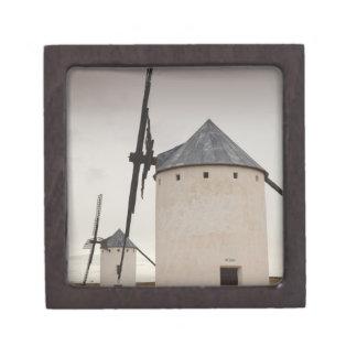 Campo de Criptana, molinoes de viento antiguos 5 d Caja De Joyas De Calidad
