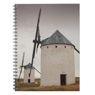 Campo de Criptana, molinoes de viento antiguos 5 d Libreta