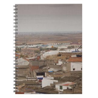 Campo de Criptana, molinoes de viento antiguos 6 d Spiral Notebooks