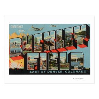 Campo de Denver Colorado - de Buckley Postal