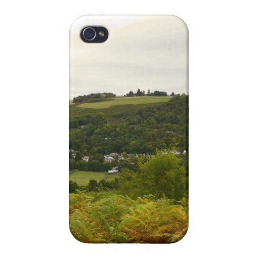 Campo de Escocia iPhone 4 Carcasas