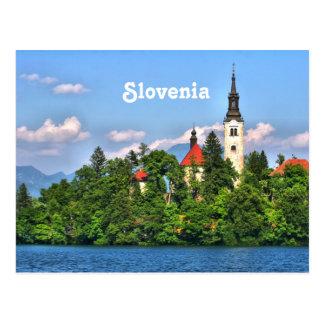 Campo de Eslovenia Tarjeta Postal
