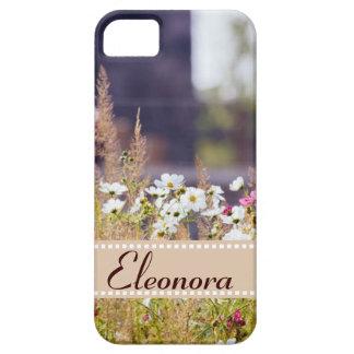 Campo de flor salvaje iPhone 5 Case-Mate fundas