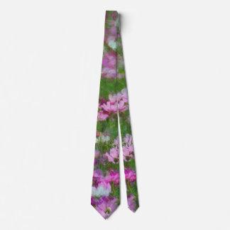Campo de flores salvajes corbatas personalizadas