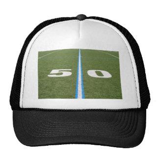 Campo de fútbol cincuenta gorras de camionero