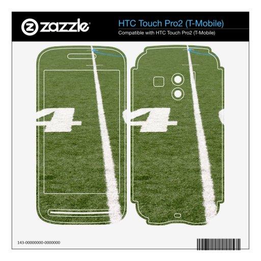Campo de fútbol cuarenta HTC touch pro2 skin