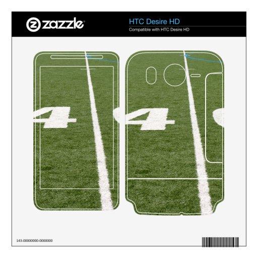 Campo de fútbol cuarenta calcomanías para HTC desire HD