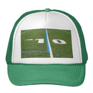 Campo de fútbol diez gorra