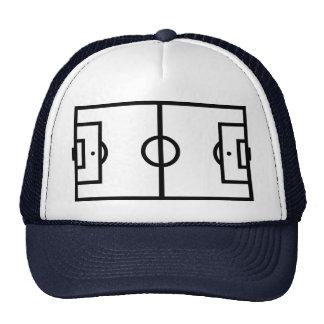 Campo de fútbol gorras