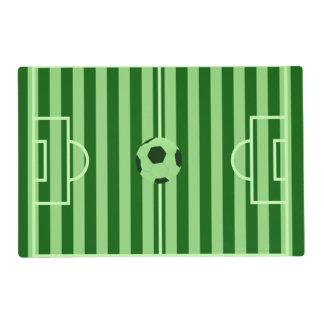 Campo de fútbol Placemat - regalos de encargo del Tapete Individual
