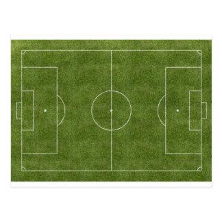 Campo de fútbol postales