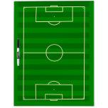 Campo de fútbol tablero blanco