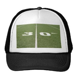 Campo de fútbol treinta gorra
