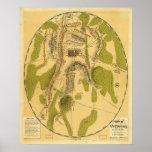 Campo de Gettysburg 1863 del 1 de julio 2do y 3ro Impresiones