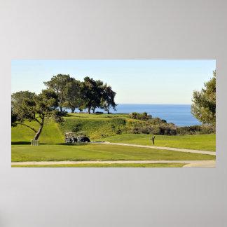 Campo de golf de los pinos de Torrey Póster