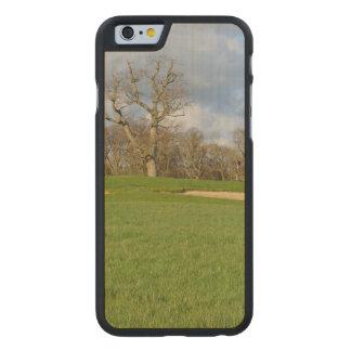 Campo de golf de los vínculos funda de iPhone 6 carved® de arce