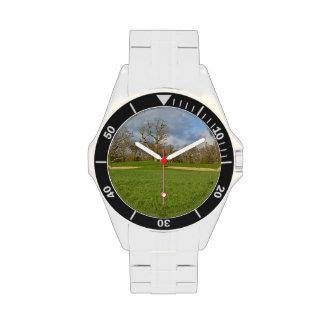 Campo de golf de los vínculos relojes de mano