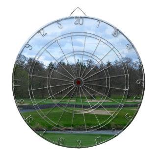 Campo de golf desafiador tabla dardos