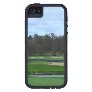 Campo de golf desafiador iPhone 5 fundas