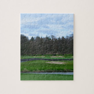 Campo de golf desafiador rompecabezas con fotos