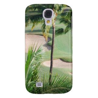 Campo de golf en caso del iPhone 3G de las zonas t