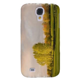 Campo de golf en caso del iPhone 3G del otoño
