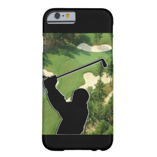 Campo de golf funda de iPhone 6 barely there